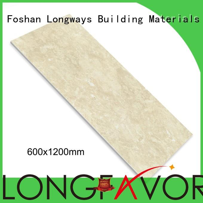 LONGFAVOR daimond crema marfil porcelain tile strong sense School