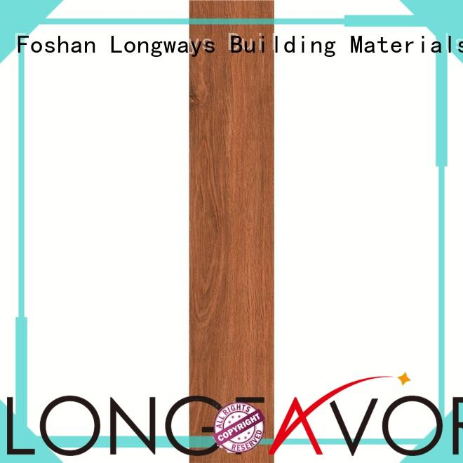 LONGFAVOR Brand surfaces screen ceramic tile flooring that looks like wood antifouling supplier