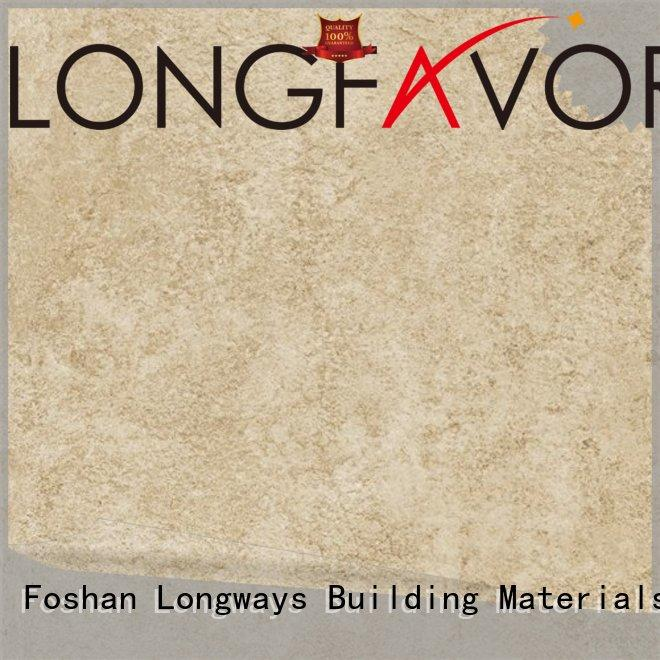 LONGFAVOR modern disign white cement tile on-sale Office Building