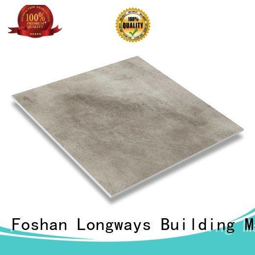 terrazzo matt LONGFAVOR porcelain tile that looks like cement tile