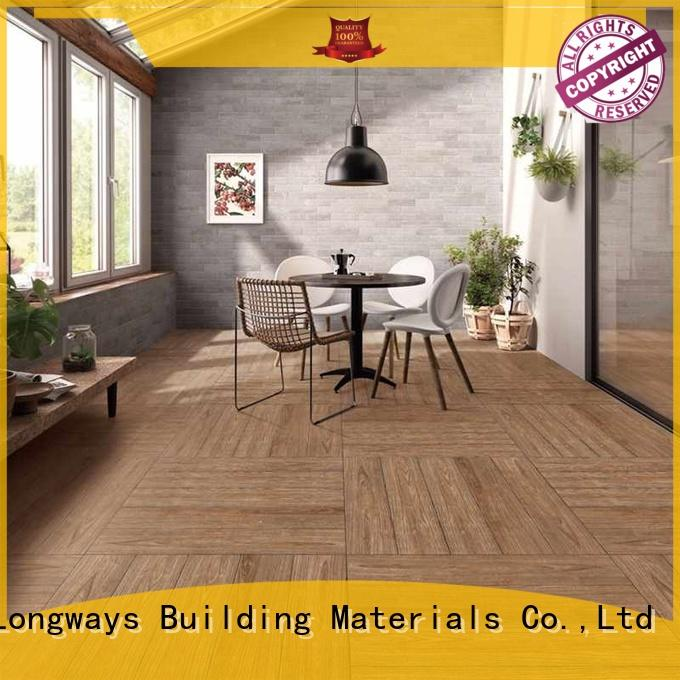 Wholesale picture wood look tile cost LONGFAVOR Brand