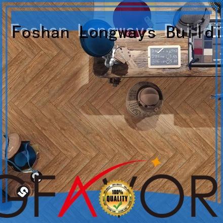 LONGFAVOR 158410 wood look tile cost ODM School