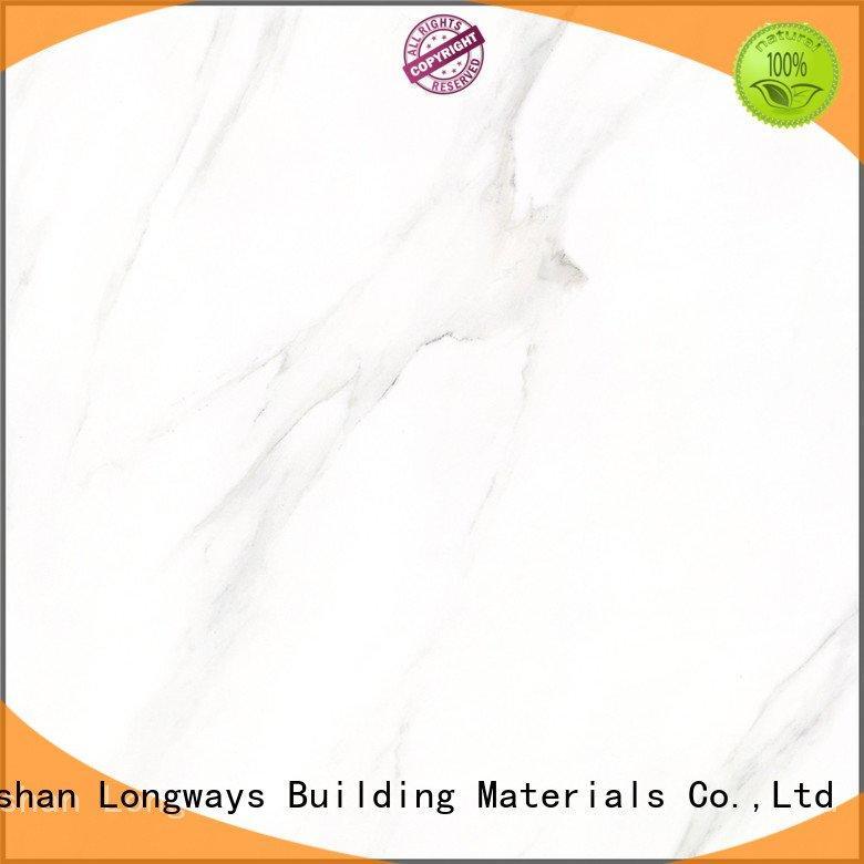 polished porcelain tiles snow glazed ceramic tile LONGFAVOR