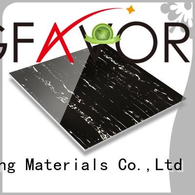 LONGFAVOR polishing tile effect laminate flooring high quality Super Market
