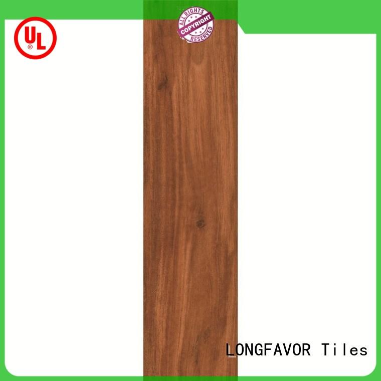 new design wood effect outdoor tiles dh158r6b35 popular wood Hotel