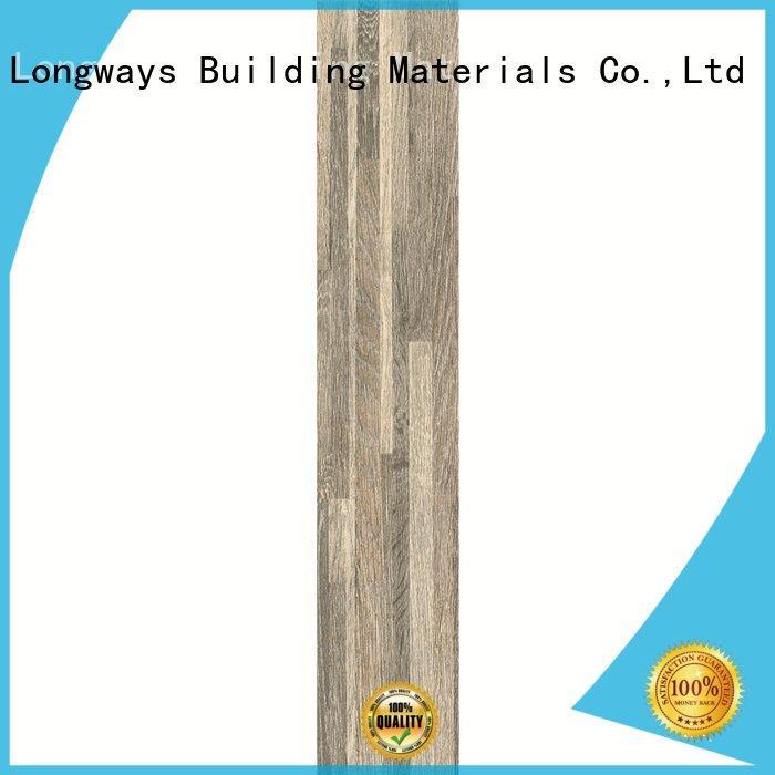 LONGFAVOR ceramic tile flooring that looks like wood