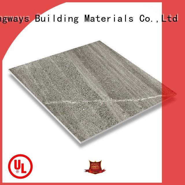 LONGFAVOR 24x24 rustic stone tile multi-color Bank