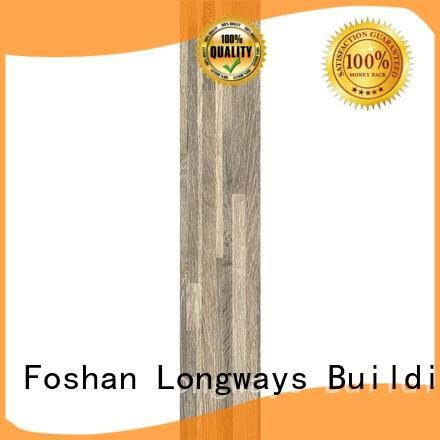 LONGFAVOR wooden wood tile flooring cost ODM Apartment