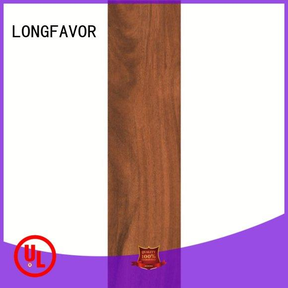 LONGFAVOR incomparable durability wood effect outdoor tiles free sample Shopping Mall