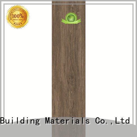 Hot oak wood effect floor tiles floortile 6x24inch 150x600mm LONGFAVOR Brand