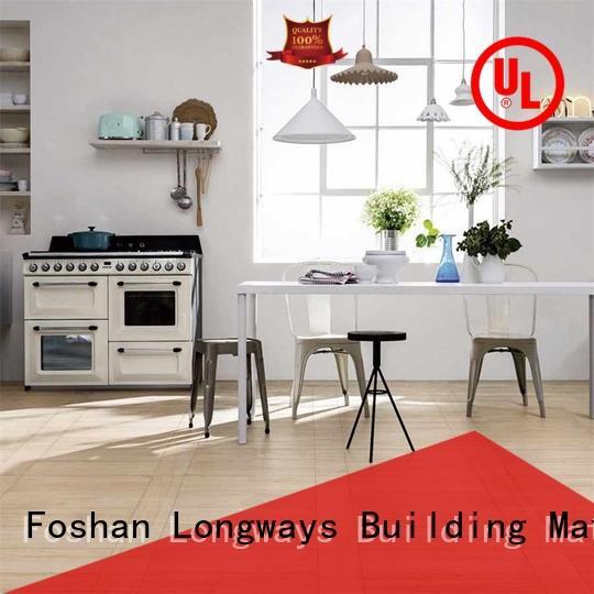 LONGFAVOR glossiness porcelain hardwood tile buy now Shopping Mall