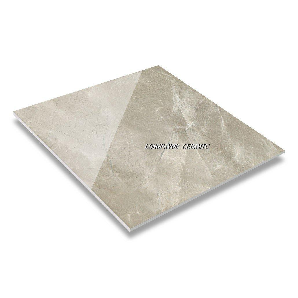 60 & 80 Tino Marble Light Grey Soft polished & Glossy Glaze Marble Tile SJ66G0C04T/M-1