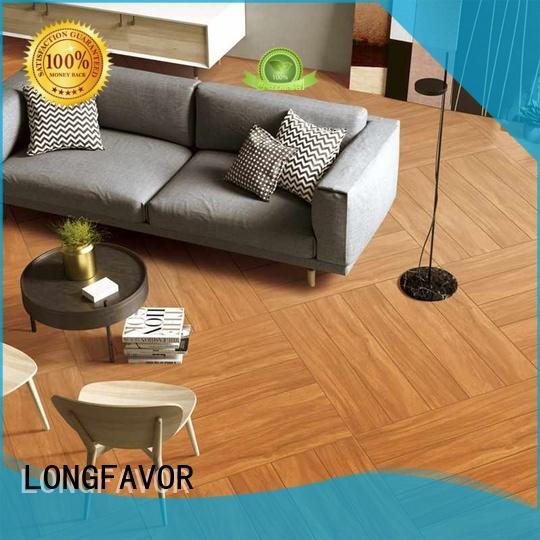 wooden ceramic tile wood look planks p158009 supplier Apartment