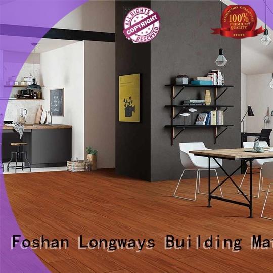low price wooden style floor tiles p158012m popular wood School