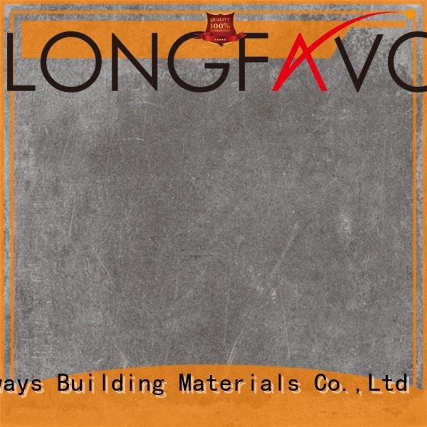 LONGFAVOR Brand beige tile full floor tile cement