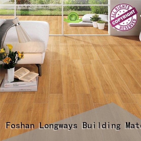 ceramic tile flooring that looks like wood LONGFAVOR Brand