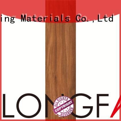 LONGFAVOR suitable wood texture floor tiles high quality airport