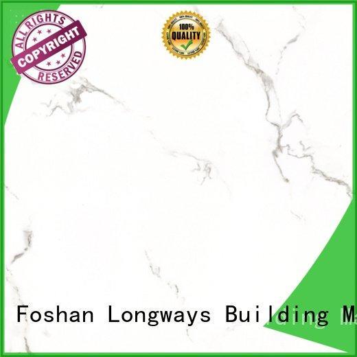 Wholesale white inkjet glazed ceramic tile LONGFAVOR Brand