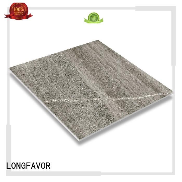 LONGFAVOR cascal design rustic tile inkjet technology Hospital