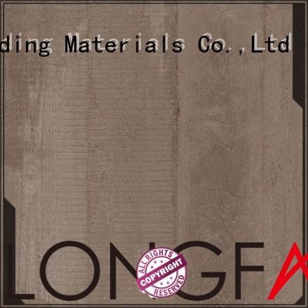 LONGFAVOR new design wood effect kitchen floor tiles beige Park