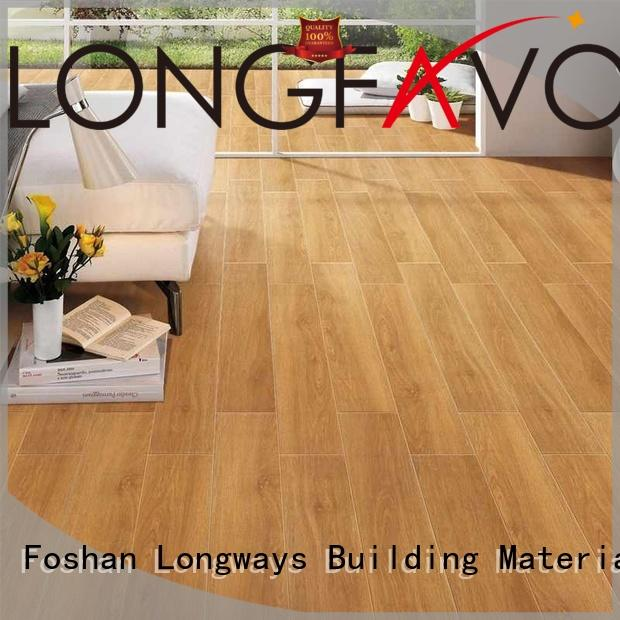 sj66g0c11tm available anti LONGFAVOR Brand ceramic tile flooring that looks like wood manufacture