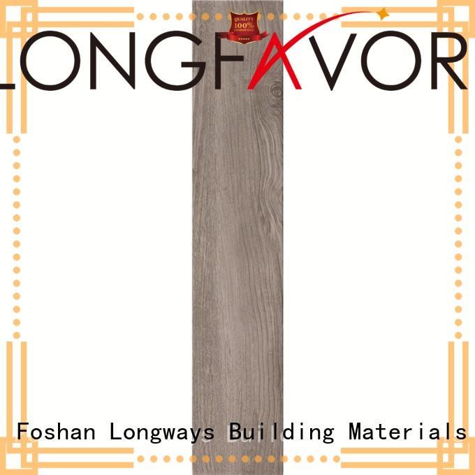 LONGFAVOR inkjet outdoor wood tiles supplier Hotel