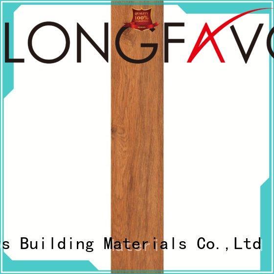 LONGFAVOR p158004 outdoor wood tiles supplier Hotel