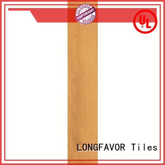 tile flooring that looks like wood planks woodlook Hotel LONGFAVOR