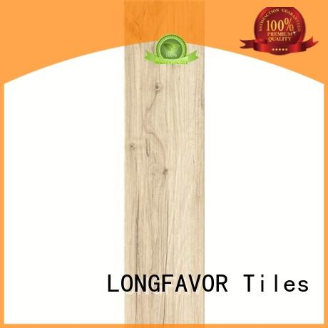 LONGFAVOR 6x24inch wooden tiles price high quality airport