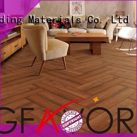 LONGFAVOR Brand wooden drak sj66g0c11tm wood look tile cost manufacture