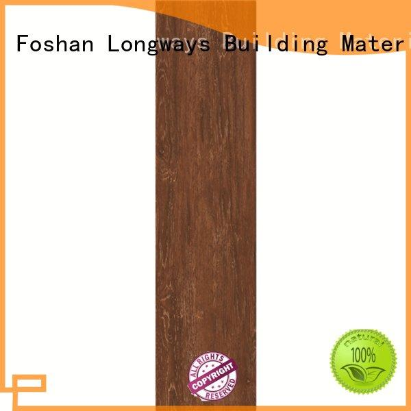 Custom 150x6006x24 wood look tile planks floortile oak wood effect floor tiles