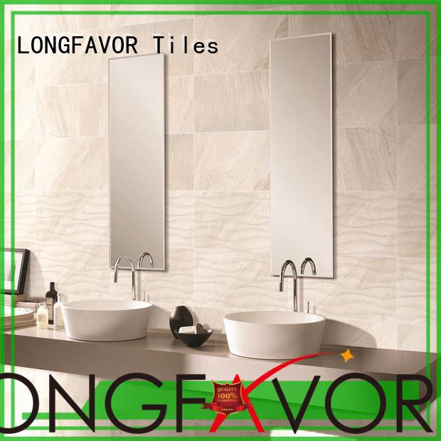 LONGFAVOR Ceramic Tiles 300x600mm Ceramic Wall Tile bulk production Walls
