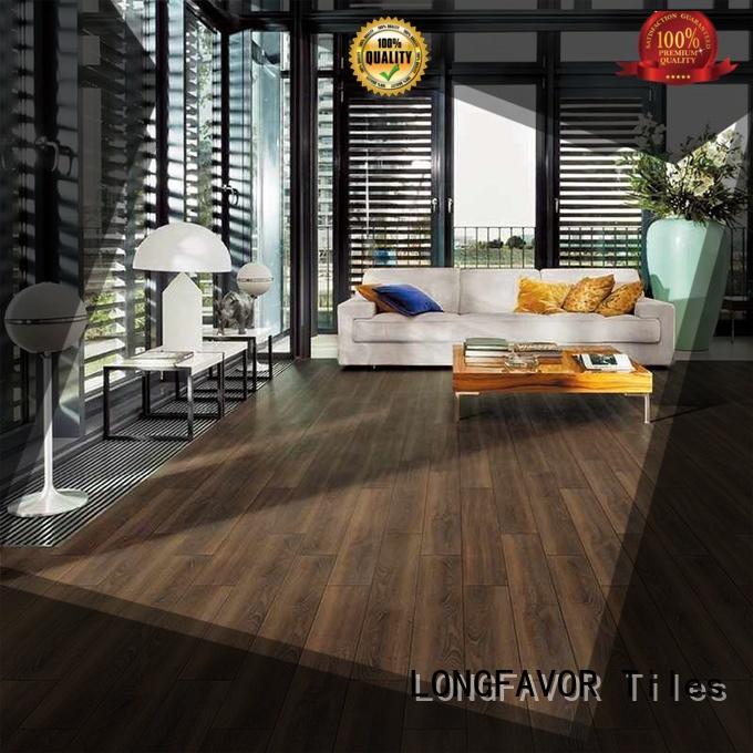 wooden ceramic tile wood look planks ps158005 supplier School