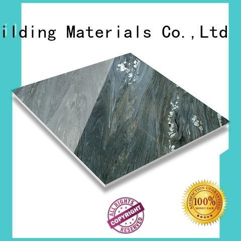 LONGFAVOR crystallized glass crema marfil porcelain tile excellent decorative effect Hotel