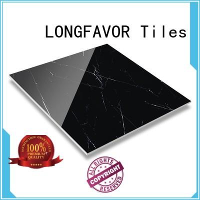 LONGFAVOR natural marble porcelain tile that looks like marble oem Shopping Mall