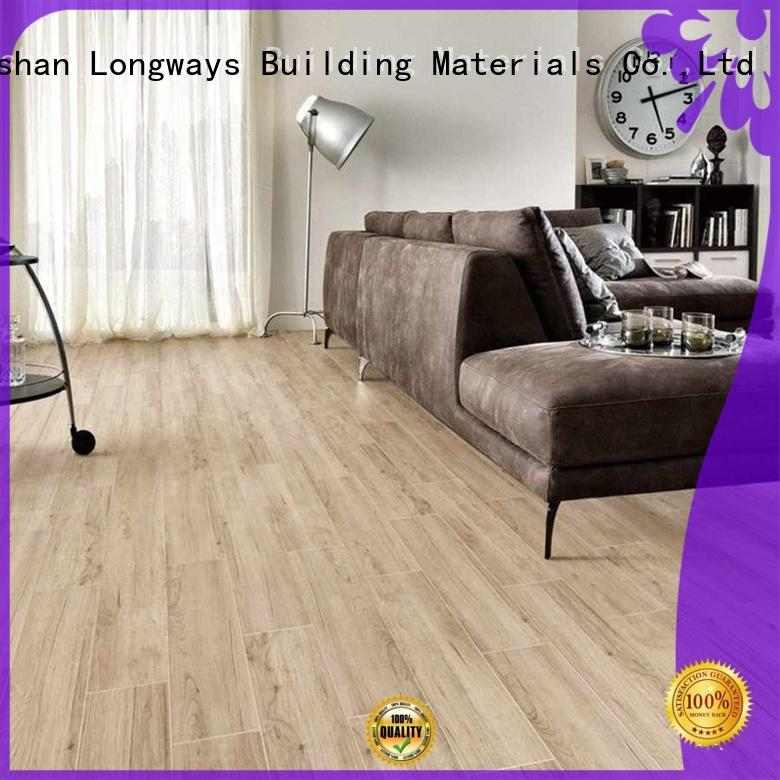 incomparable durability wood look tile planks room150x600mm high quality Shopping Mall