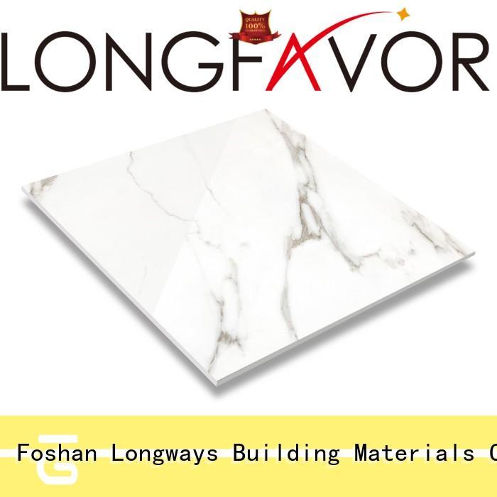 brighter marble look floor tiles excellent decorative effect Hotel LONGFAVOR