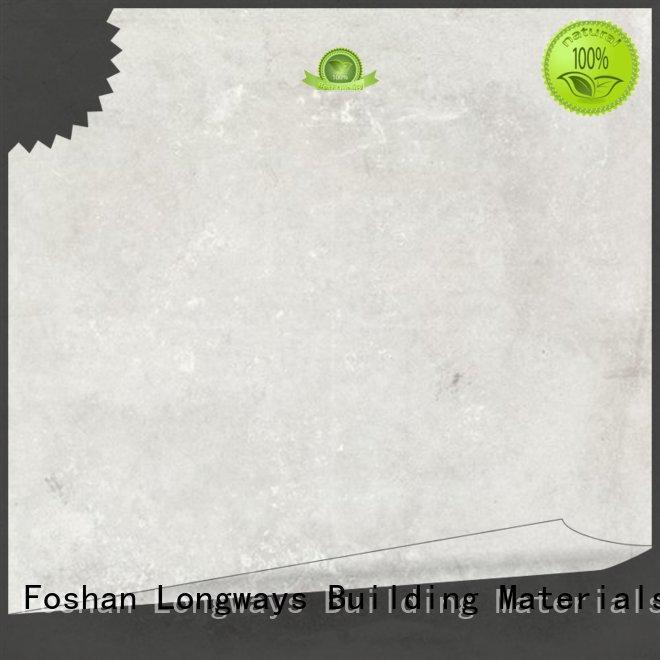 LONGFAVOR simple styple polished concrete tiles excellent decorative effect Super Market
