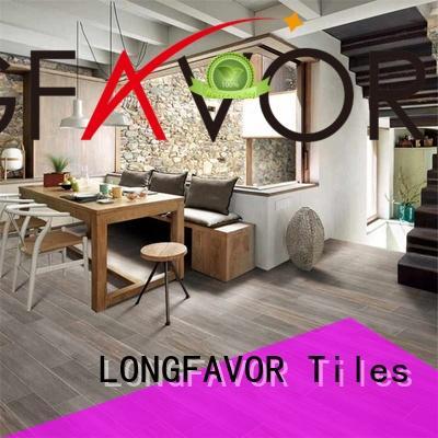 LONGFAVOR ps158405 wooden style floor tiles ODM Hotel