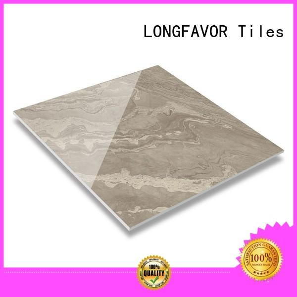 realistic decorative effect polished glazed tiles floor high quality airport