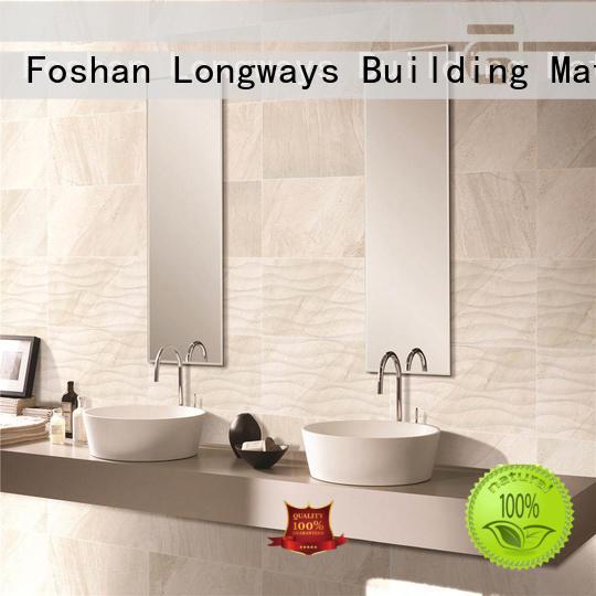 LONGFAVOR white 300x600mm Ceramic Wall Tile bulk production Walls