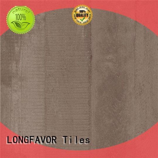 LONGFAVOR low price wood effect outdoor tiles popular wood Zoo