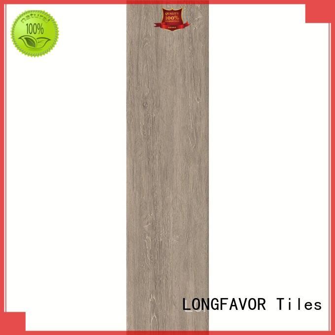 LONGFAVOR injet wood texture floor tiles popular wood School