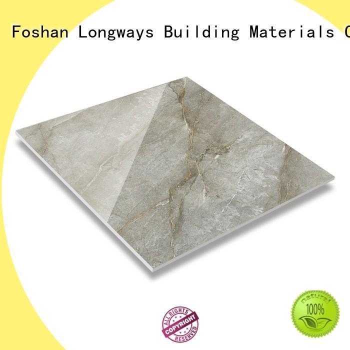 LONGFAVOR crystallized glass bathroom floor and wall tiles excellent decorative effect School