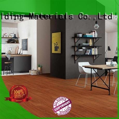 LONGFAVOR low price wooden style floor tiles supplier Hotel