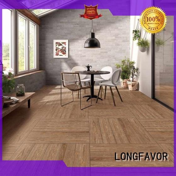 150x800mm Bathroom floor or wall  Brown Wood-look Ceramic Tile P158035M