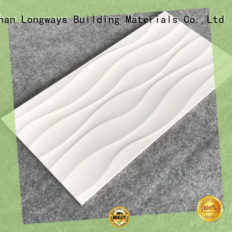 carrara Tile 300x600mm Ceramic Wall Tile wave oem Walls