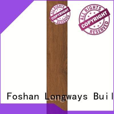 15x60 large OEM wood look tile cost LONGFAVOR