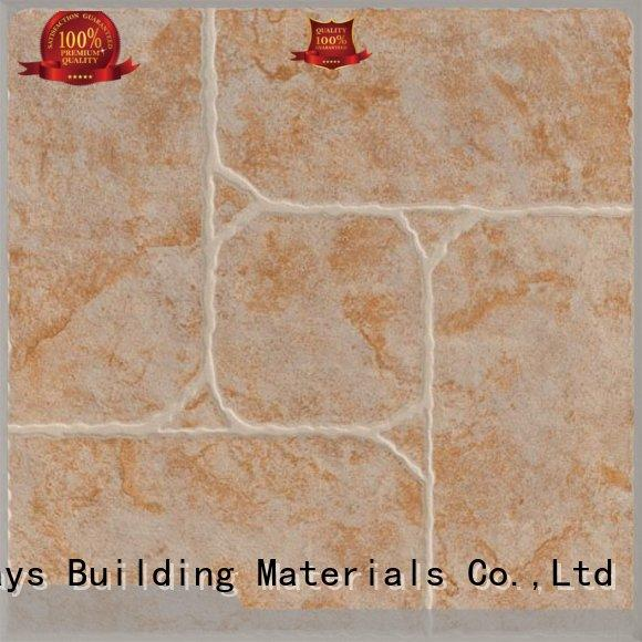wooden 300x300mm Ceramic Floor Tile floor strong sense Hotel