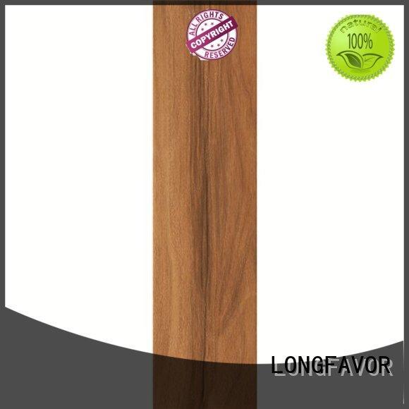 teak wood effect wall tiles high quality Shopping Mall LONGFAVOR
